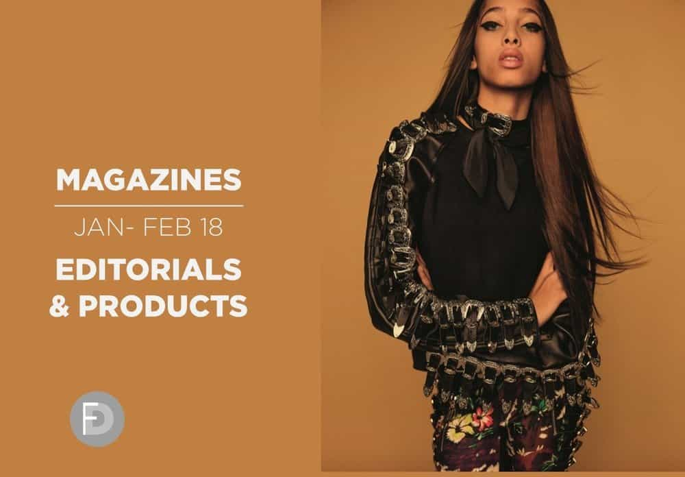 Fashion Magazines January February 2018 - Trends & Products