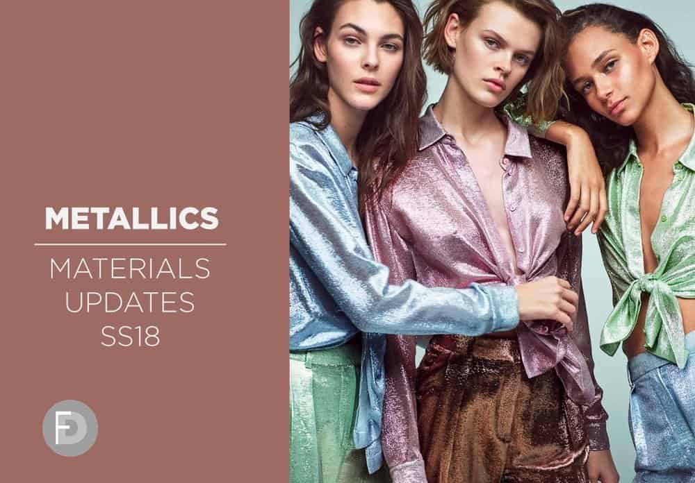 Metallics Materials Updates SS18