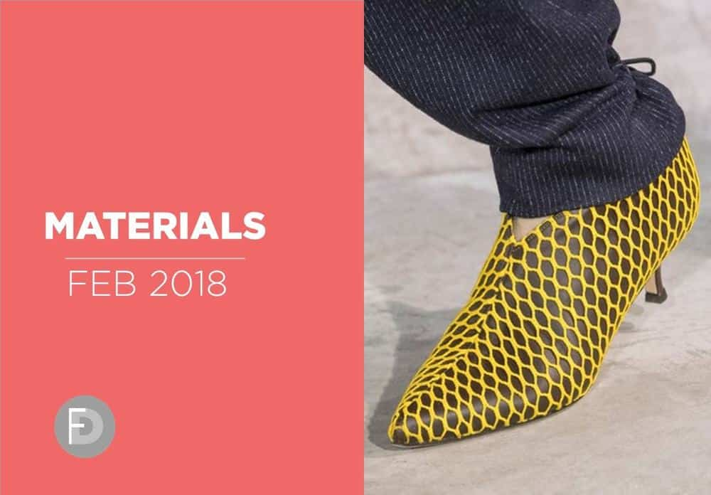 Shoes Materials And Details February 2018