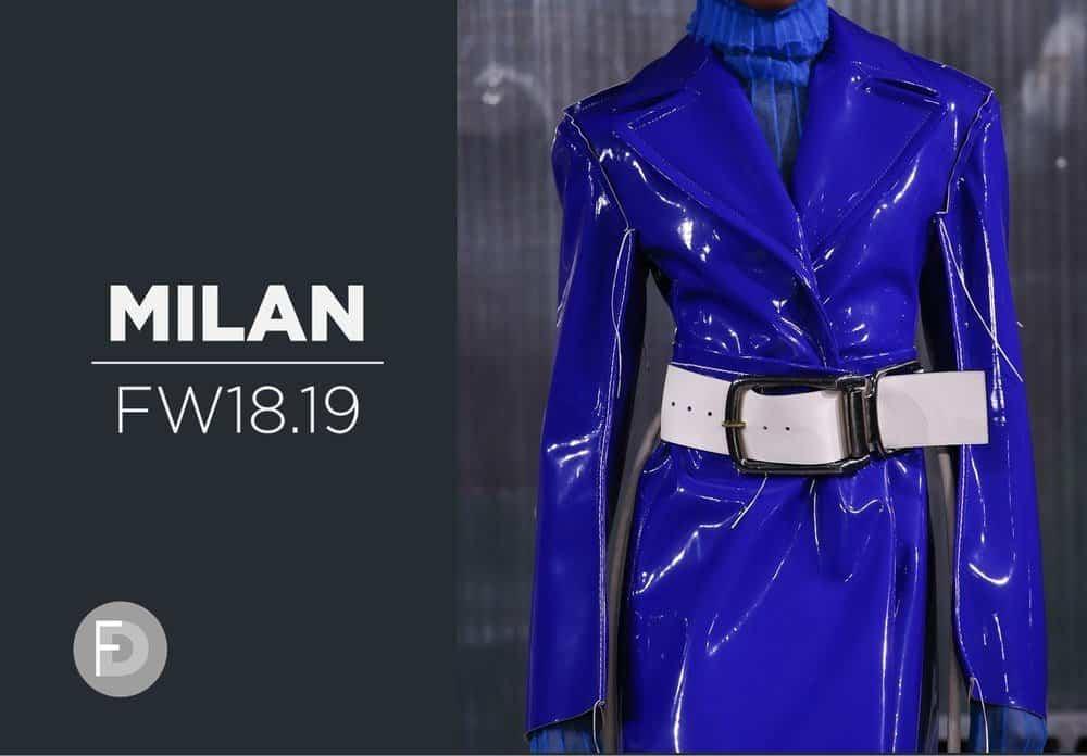 Milan FW18/19 catywalks