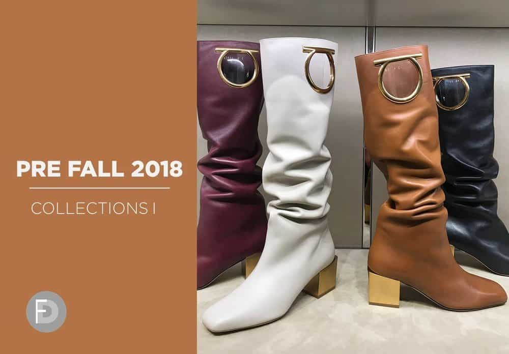Pre Fall 2018 Footwear Collections