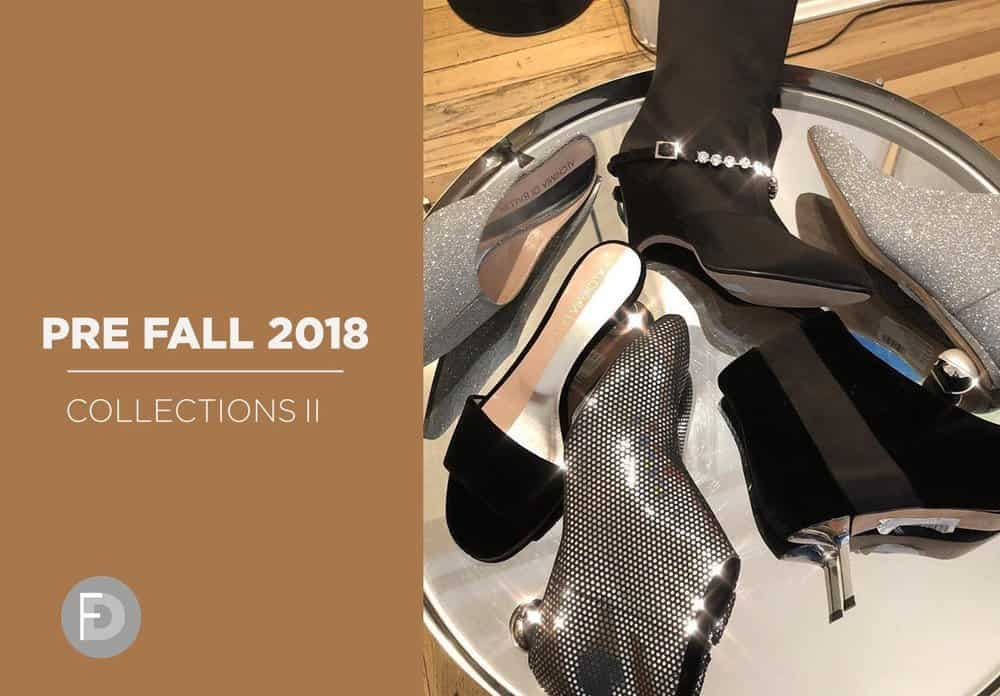 Pre fall 2018 Shoes Collections