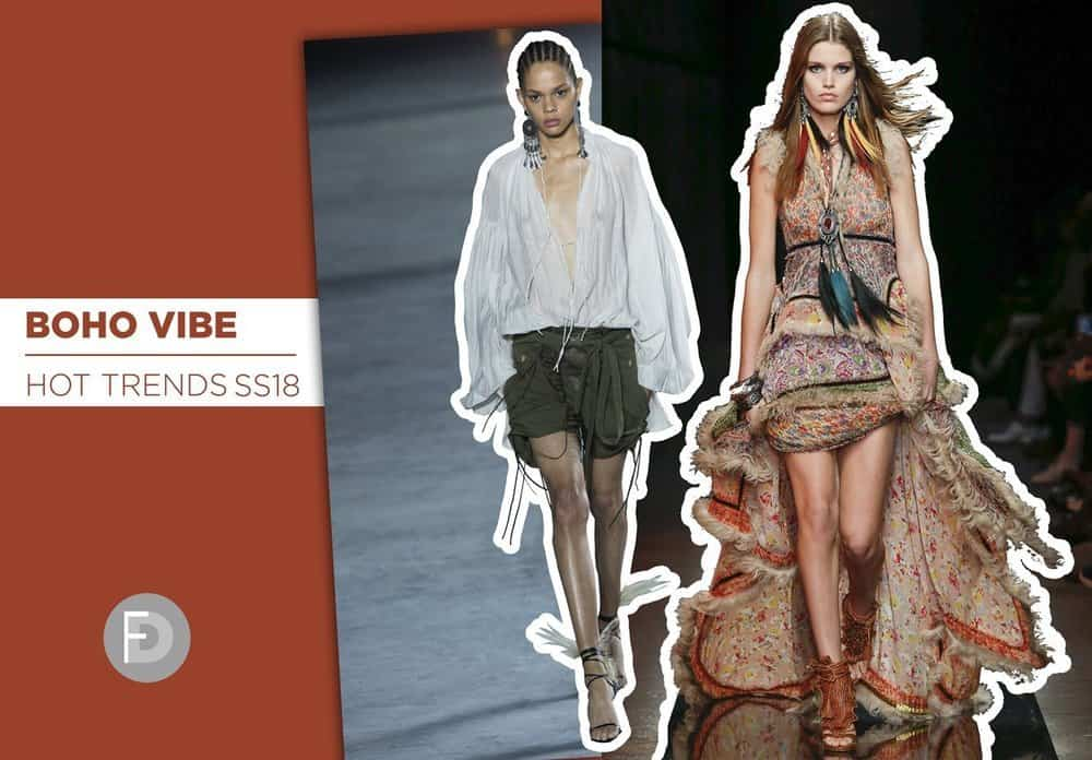 Hot Trends SS18 Boho