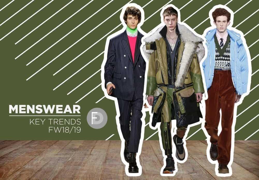 Menswear FW18/19 Trends