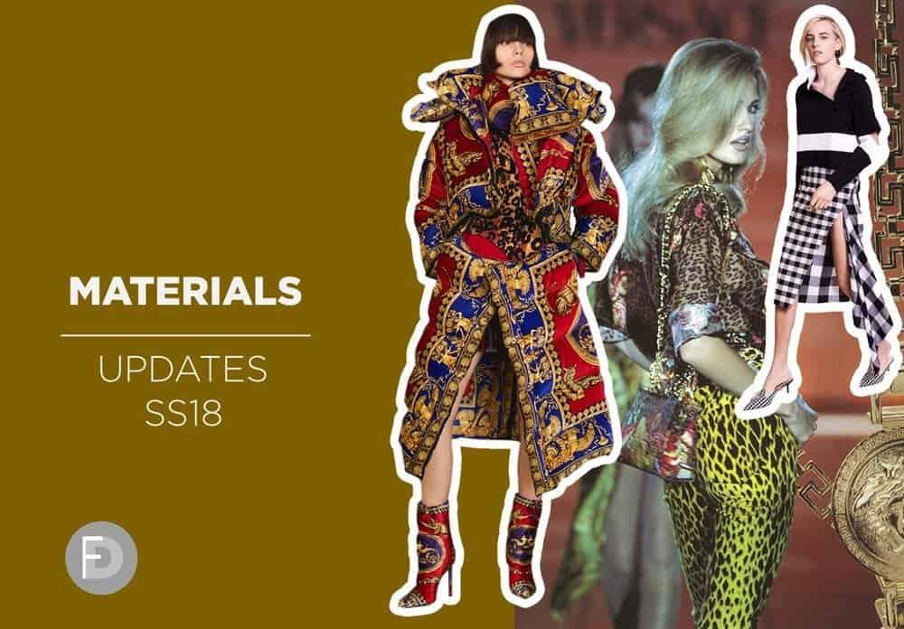 Materials Updates SS18