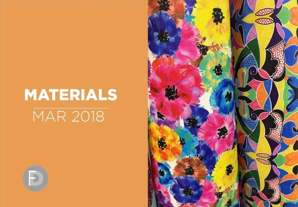 shoes materials trends march 2018 details