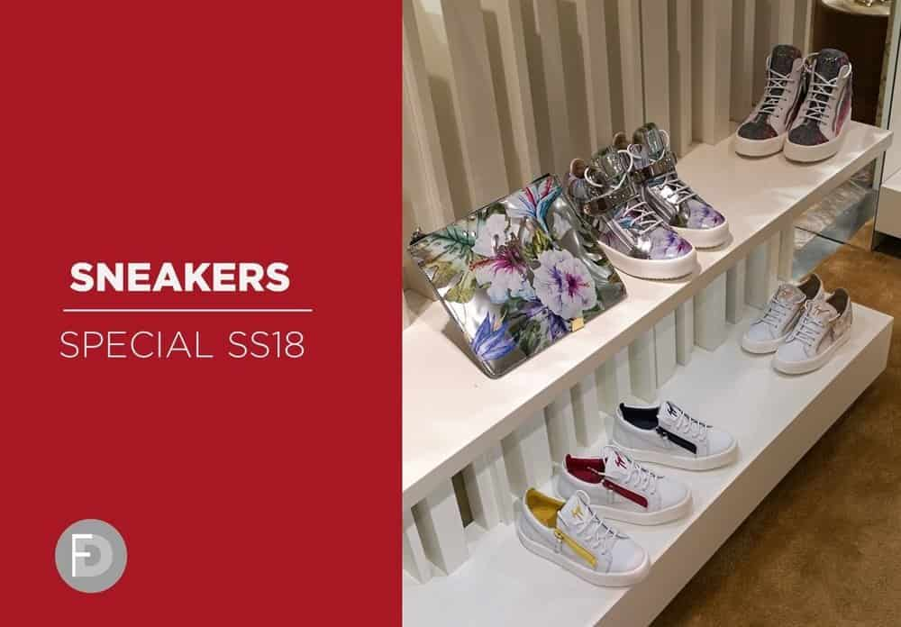 Sneakers SS18 Special Trend Report
