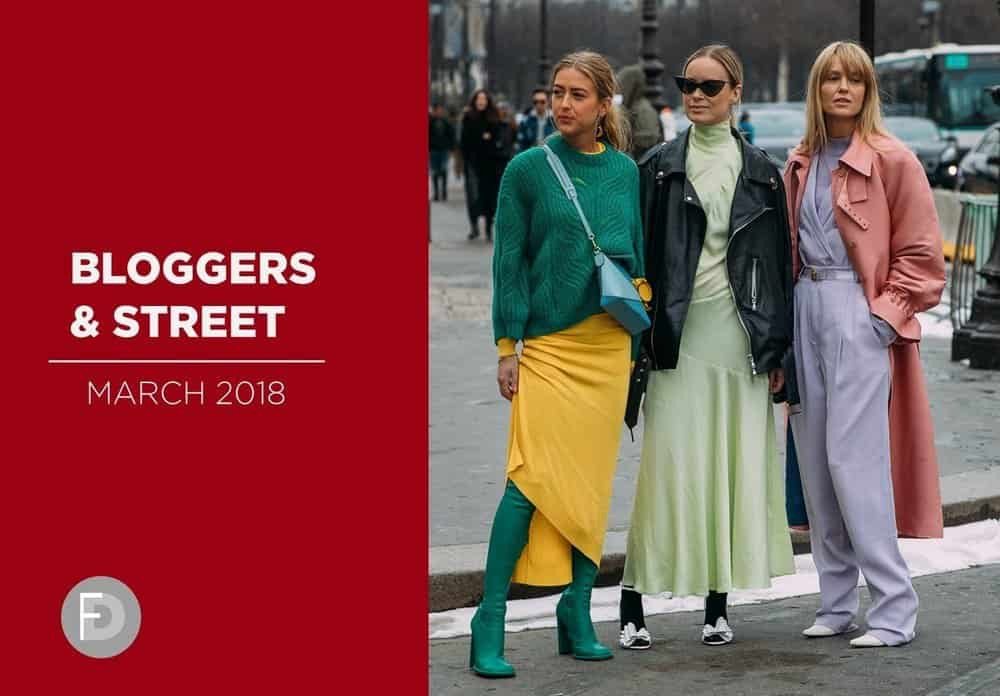 Shoes Bloggers & Street Style March 2018