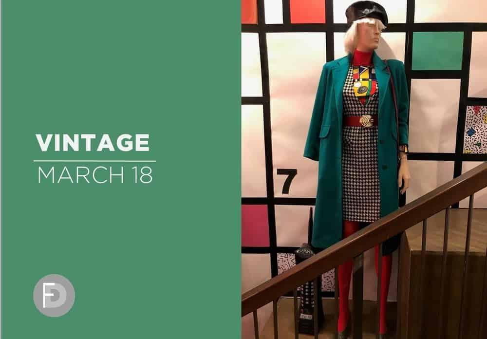 shoes retail windows Vintage March 2018