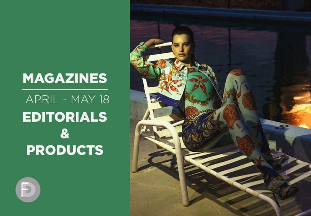 MAGAZINES APR-MAY 18 – Editorials & Products