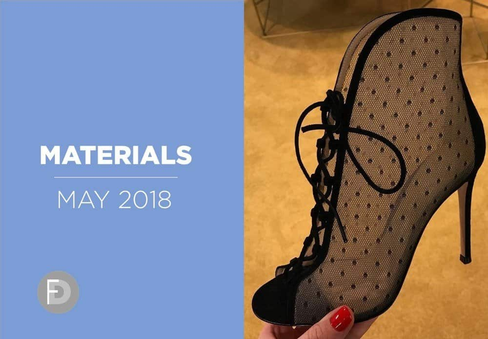 women's shoes details and materials may 2018
