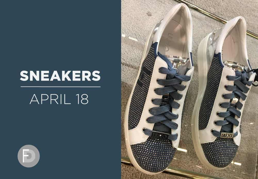 SS18 sneakers april 2018