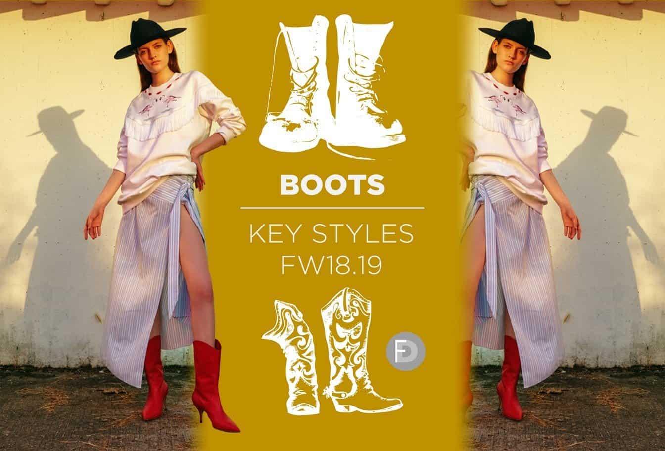 Boots Key Styles FW18/19