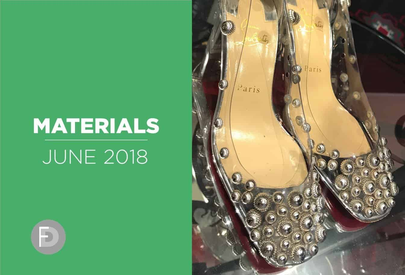 shoes materials and details June 2018