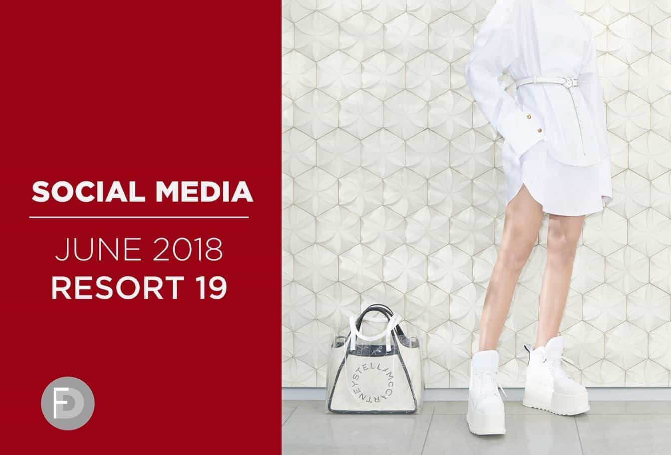 social media fashion june 2018