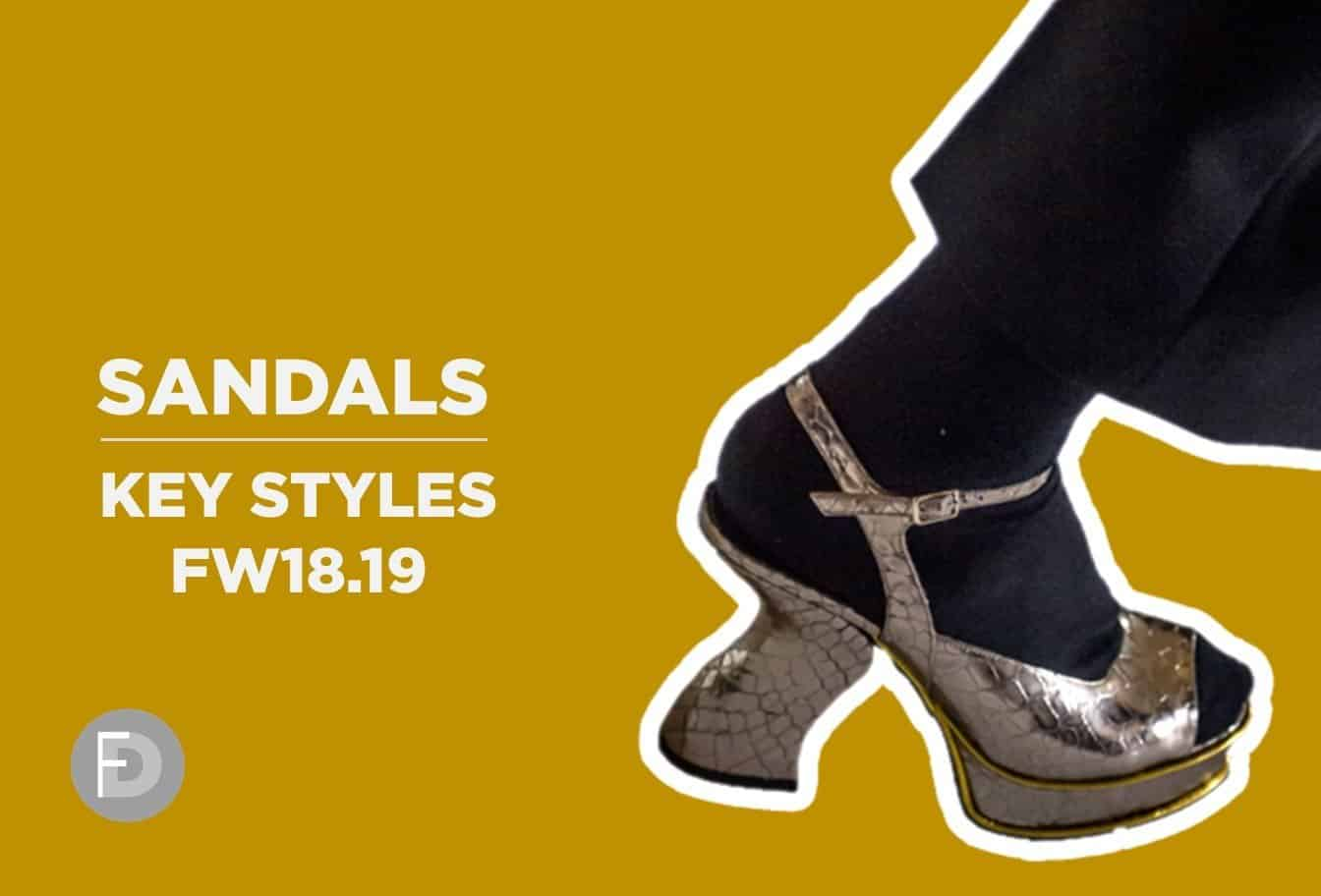 sandals new styles 2018 fw1819