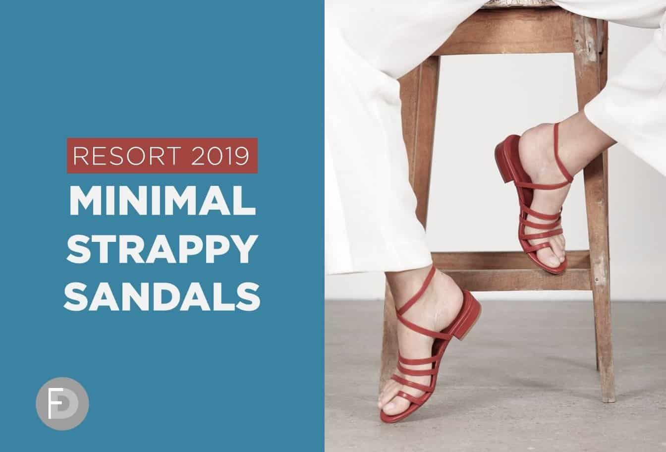 Minimal sandals RST19