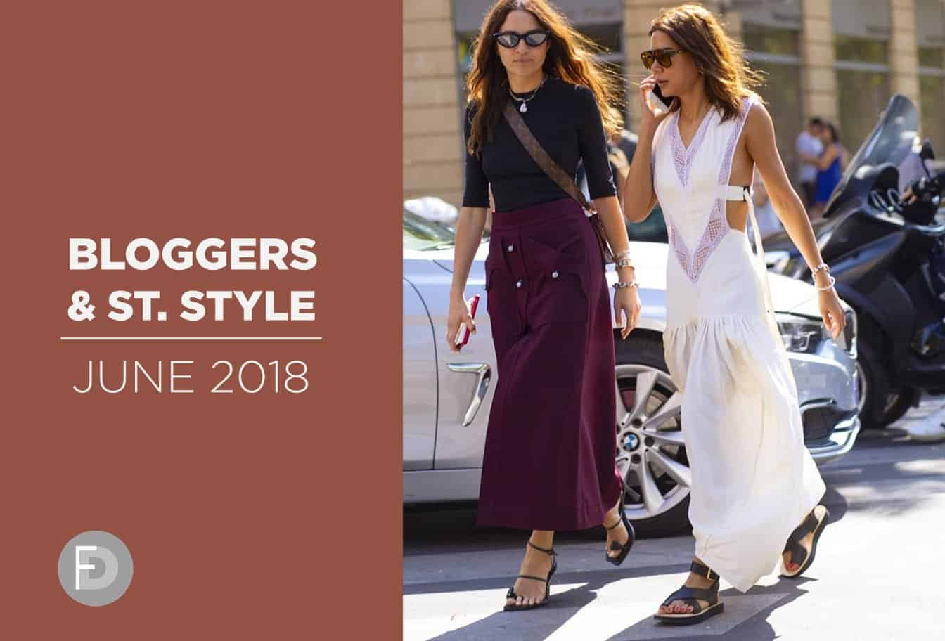 Bloggers & Street Style June 2018