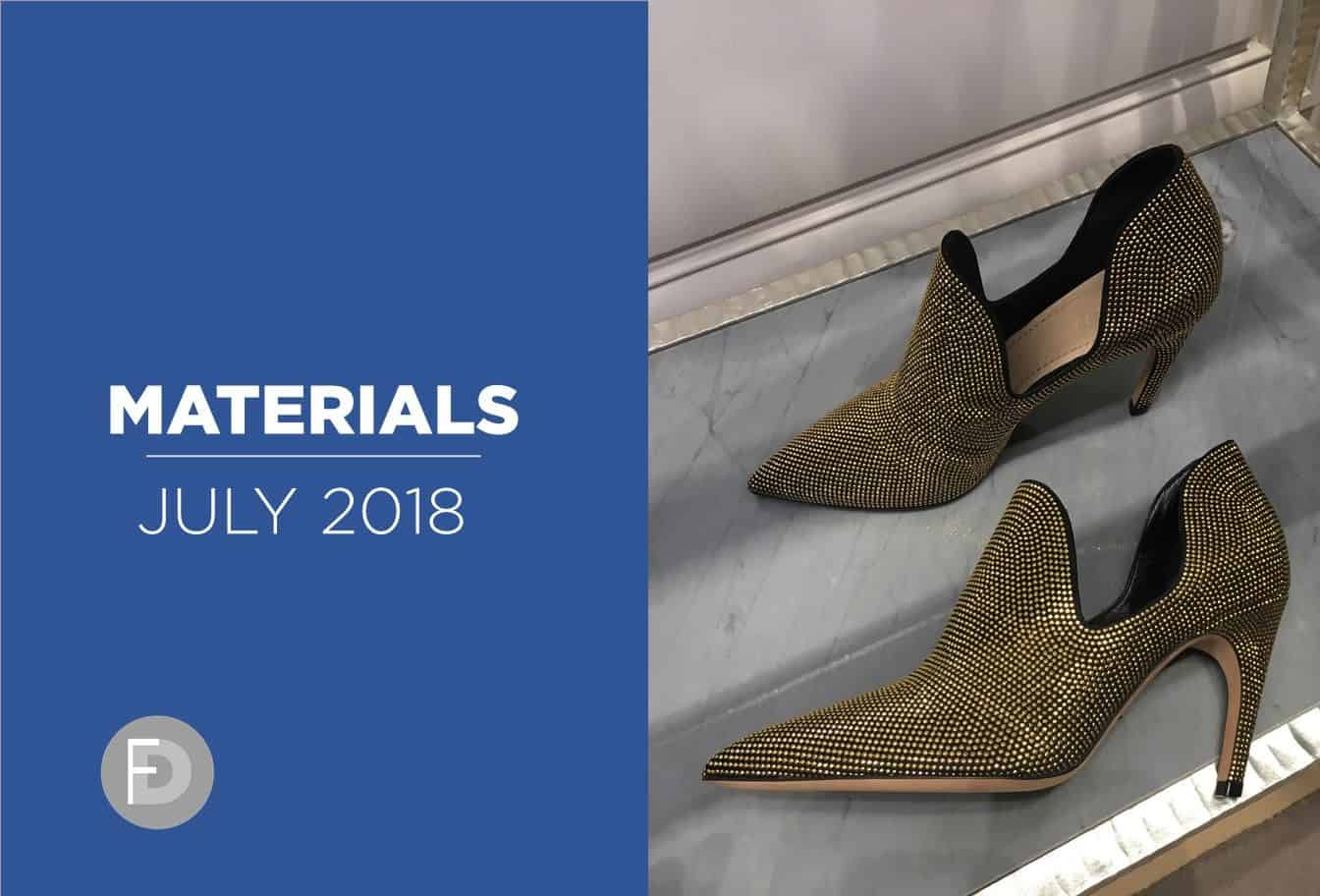 womens shoes materials 2018