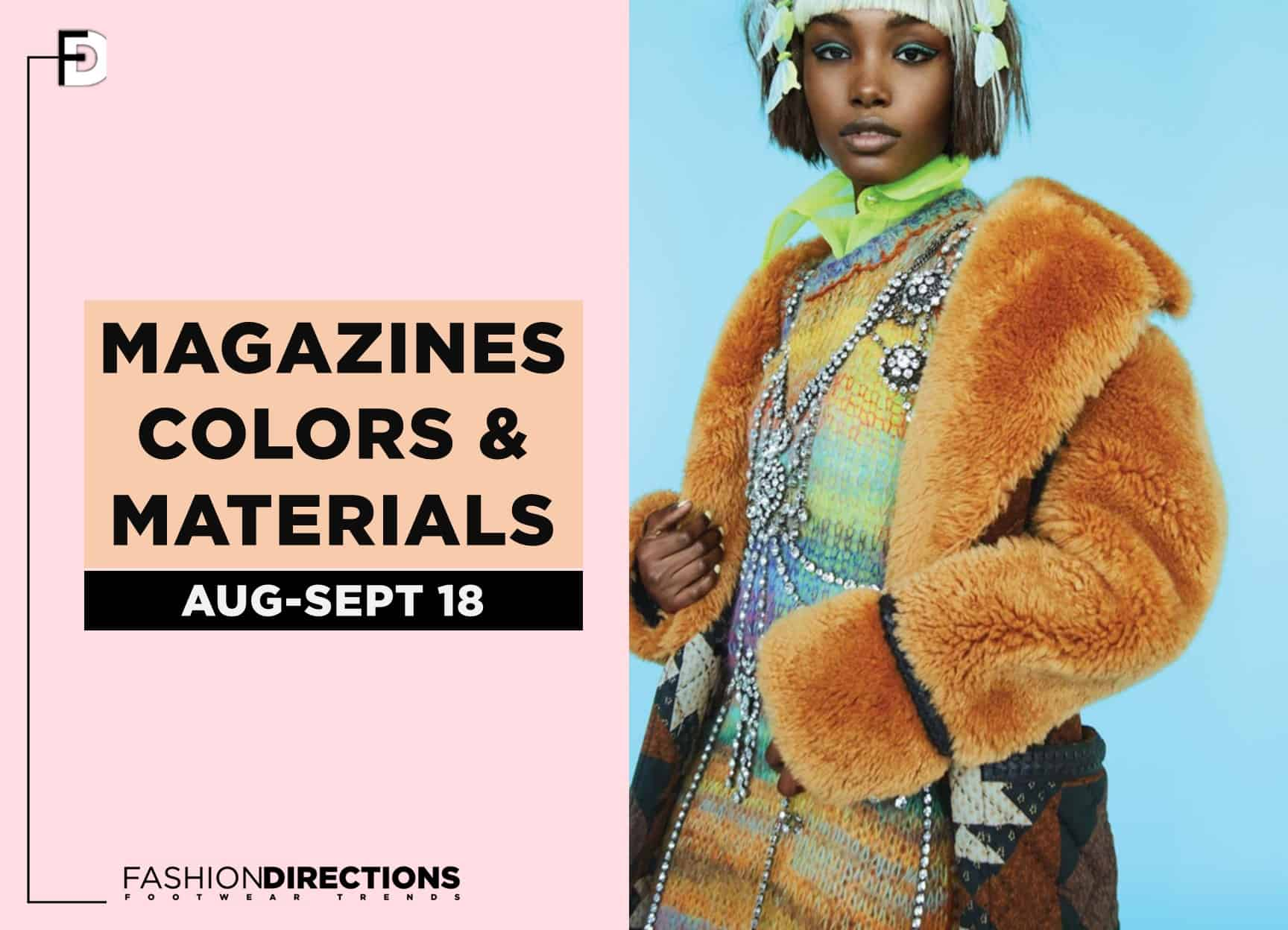 Fashion Magazines Editorials September 2018