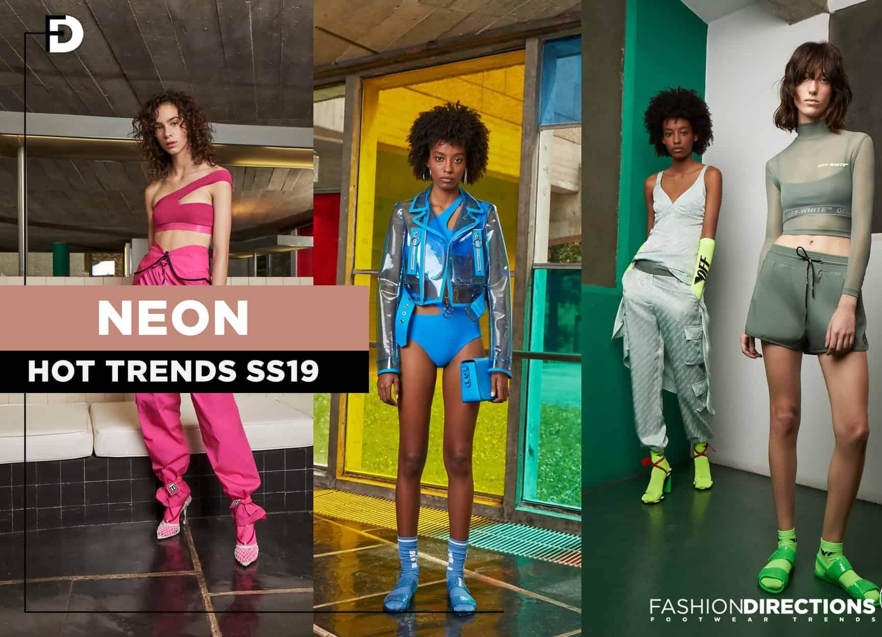 Neon trend 2018