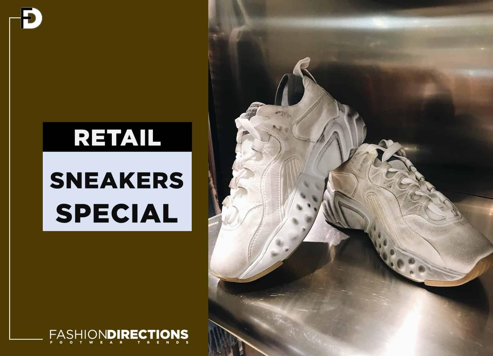 Retail Sneakers August 2018
