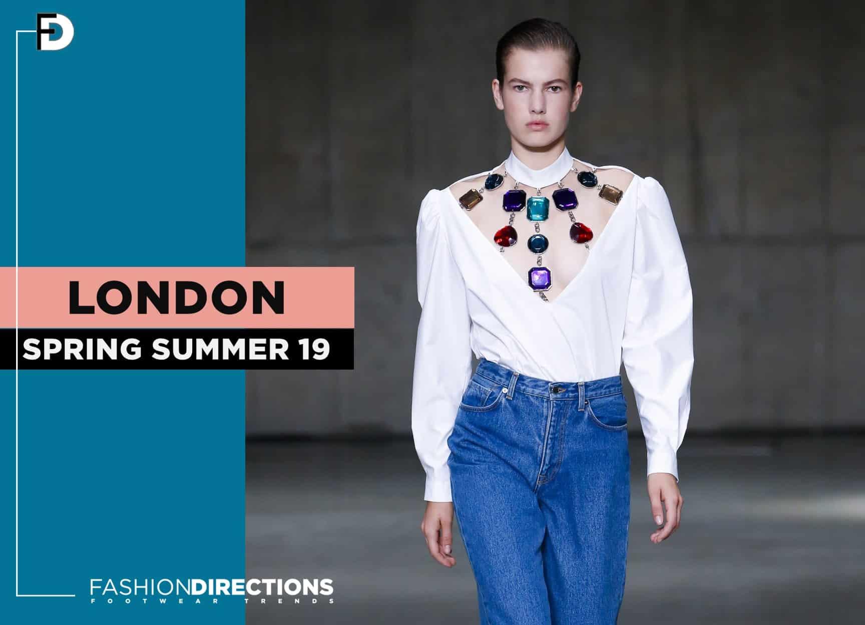 London SS19 Fashion Week Highlights