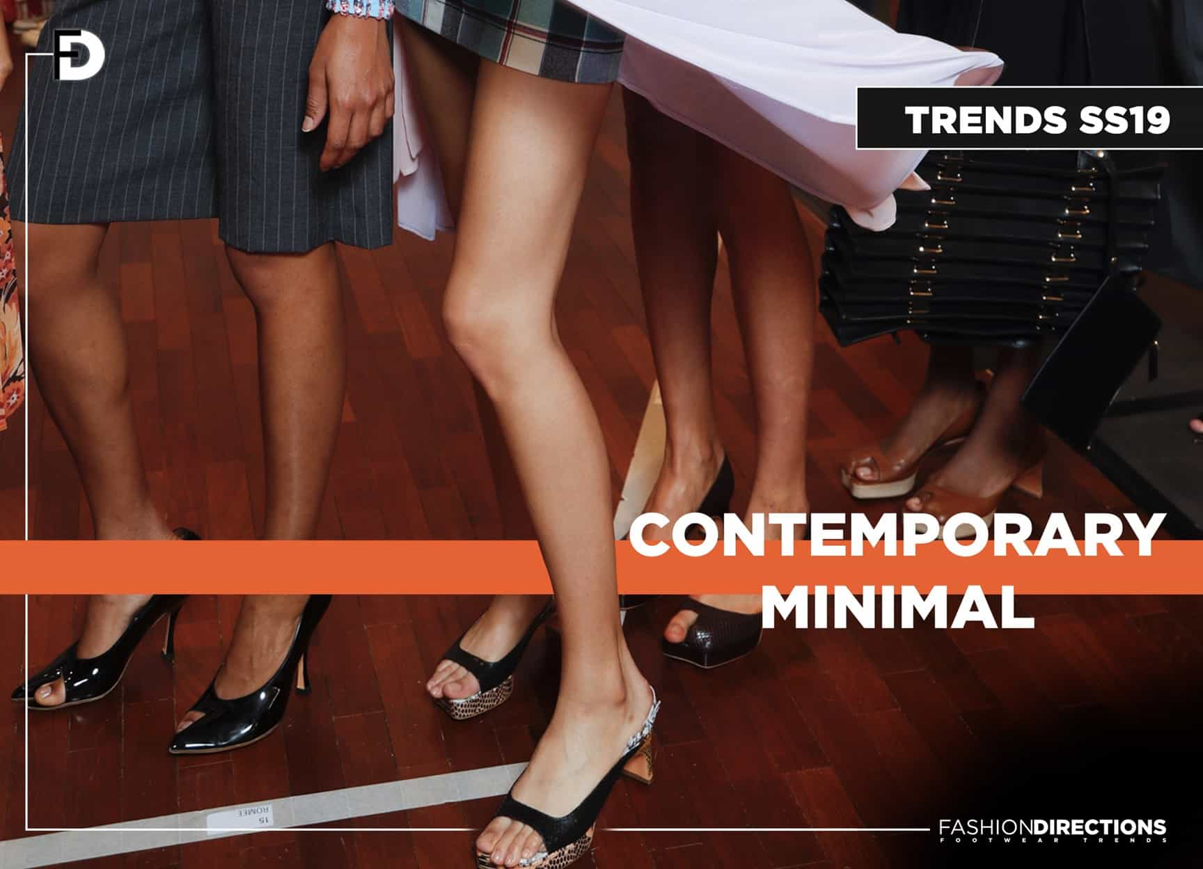 SS19 trends Contemporary Minimal