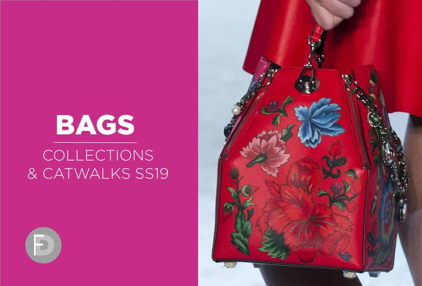 handbags collections and catwalks ss19