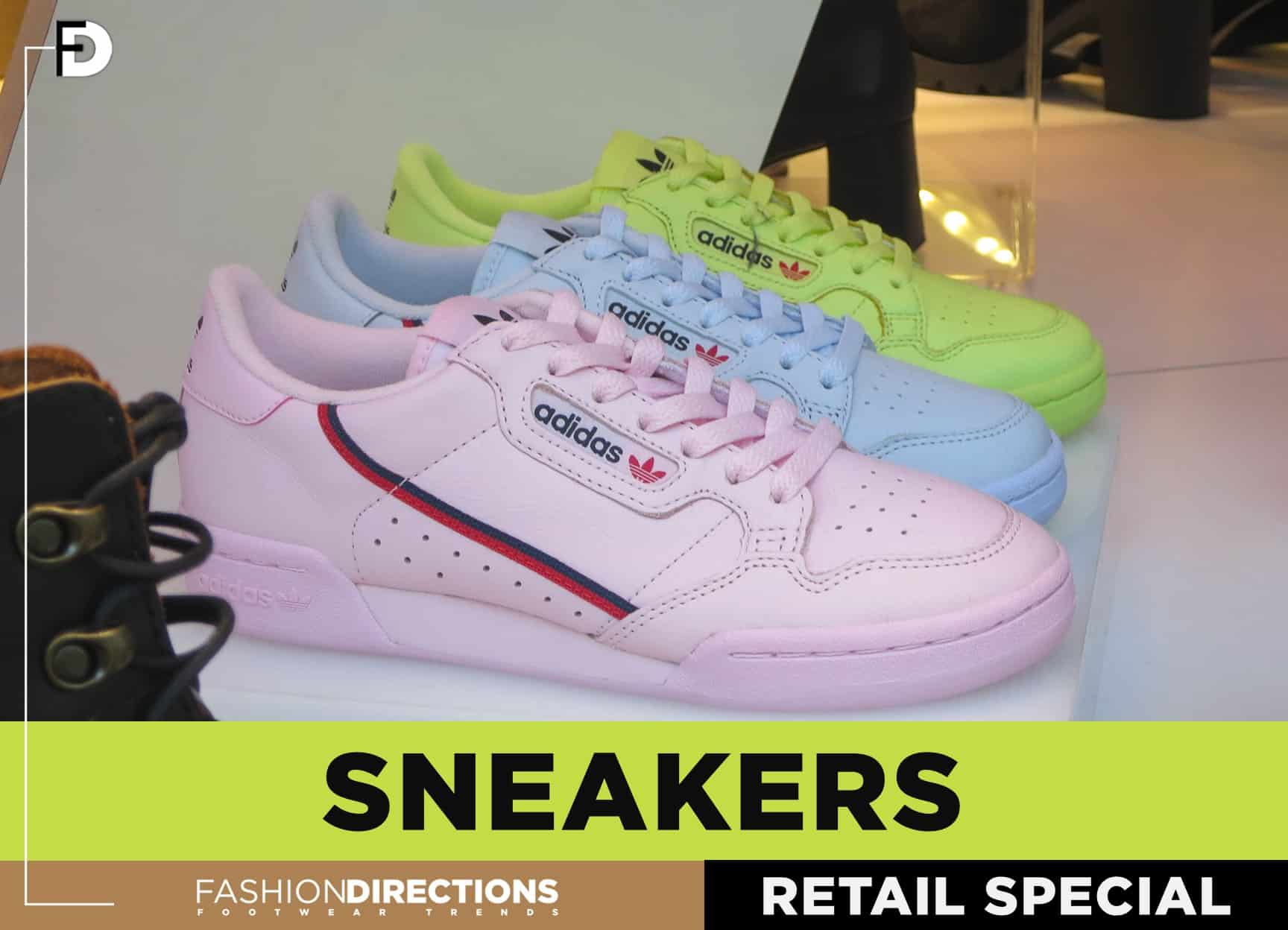 Retail Stores Sneakers Women November 2018