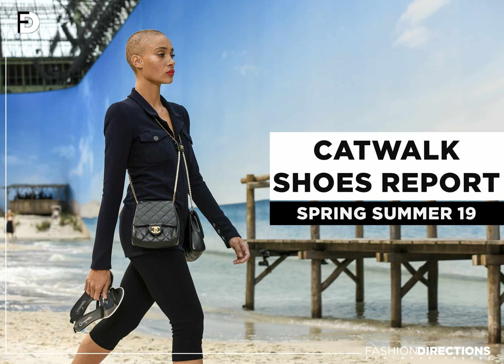 SS19 catwalk shoes Footwear trends