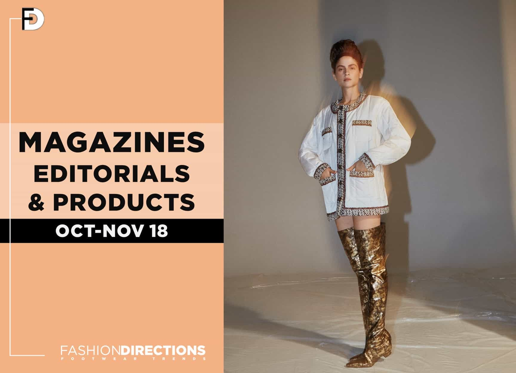 fashion editorials November 2018