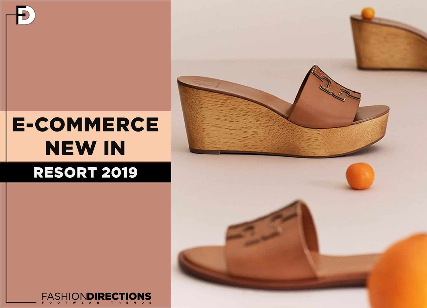 ecommerce new shoes resort 2019