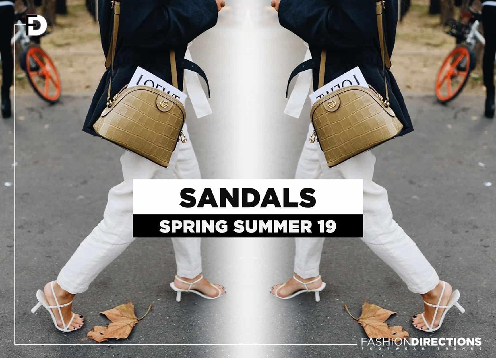 ss19 sandals spring summer 2019