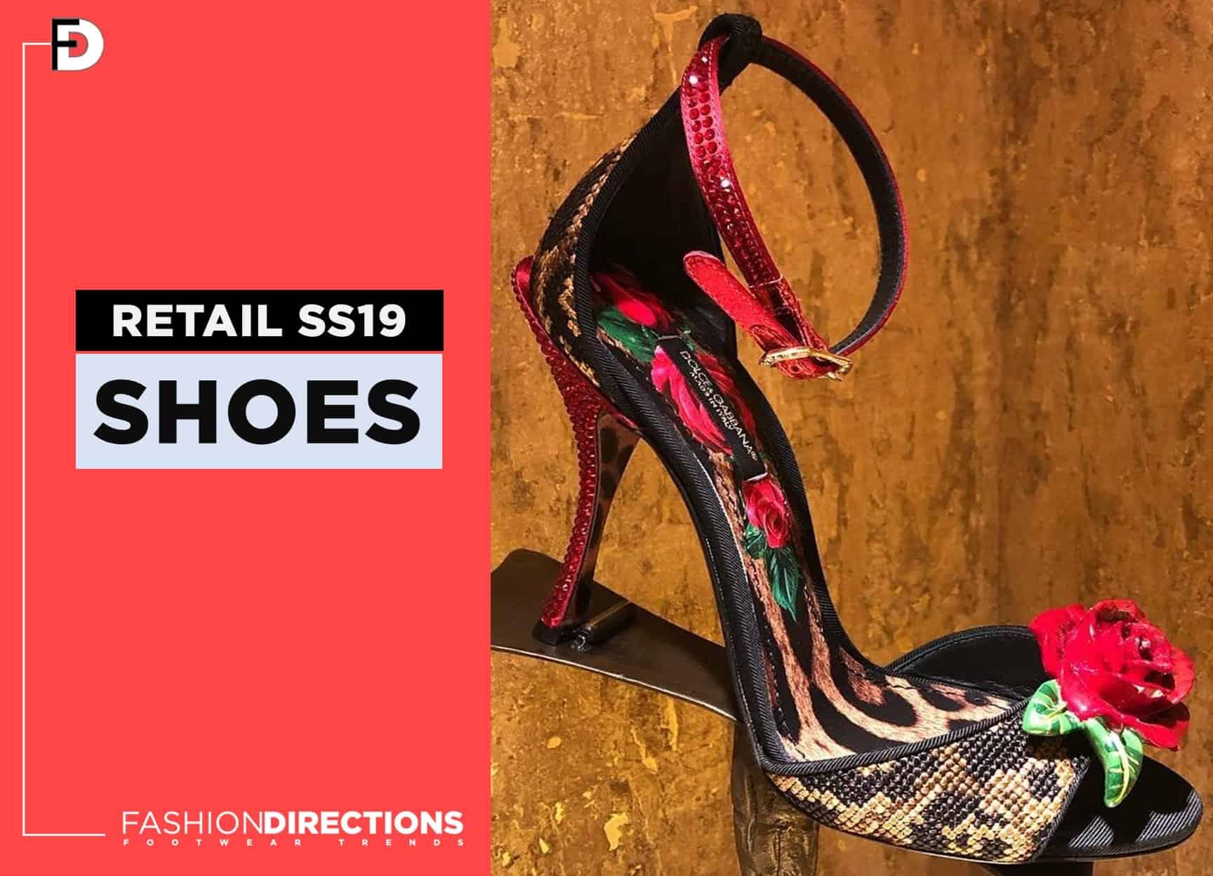 SS19 luxury womens footwear