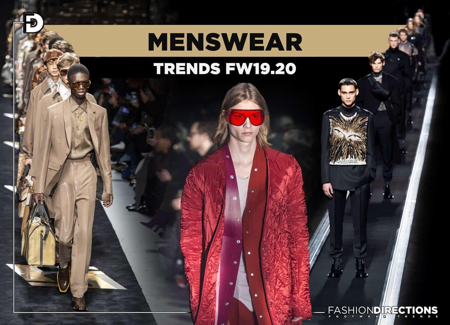 FW19.20 Menswear trends 1