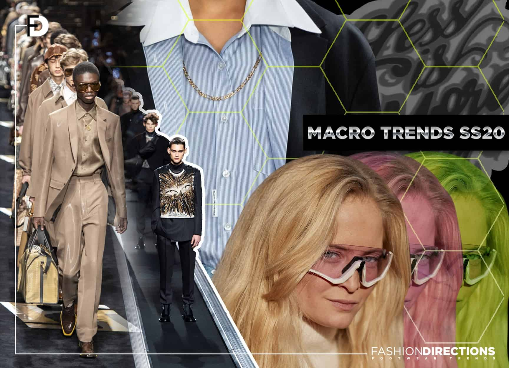 Shoes Macro Trends ss20