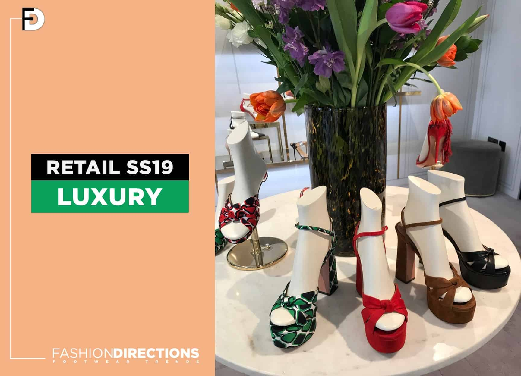 Luxury Shoes 2019 Retail Stores Windows 1