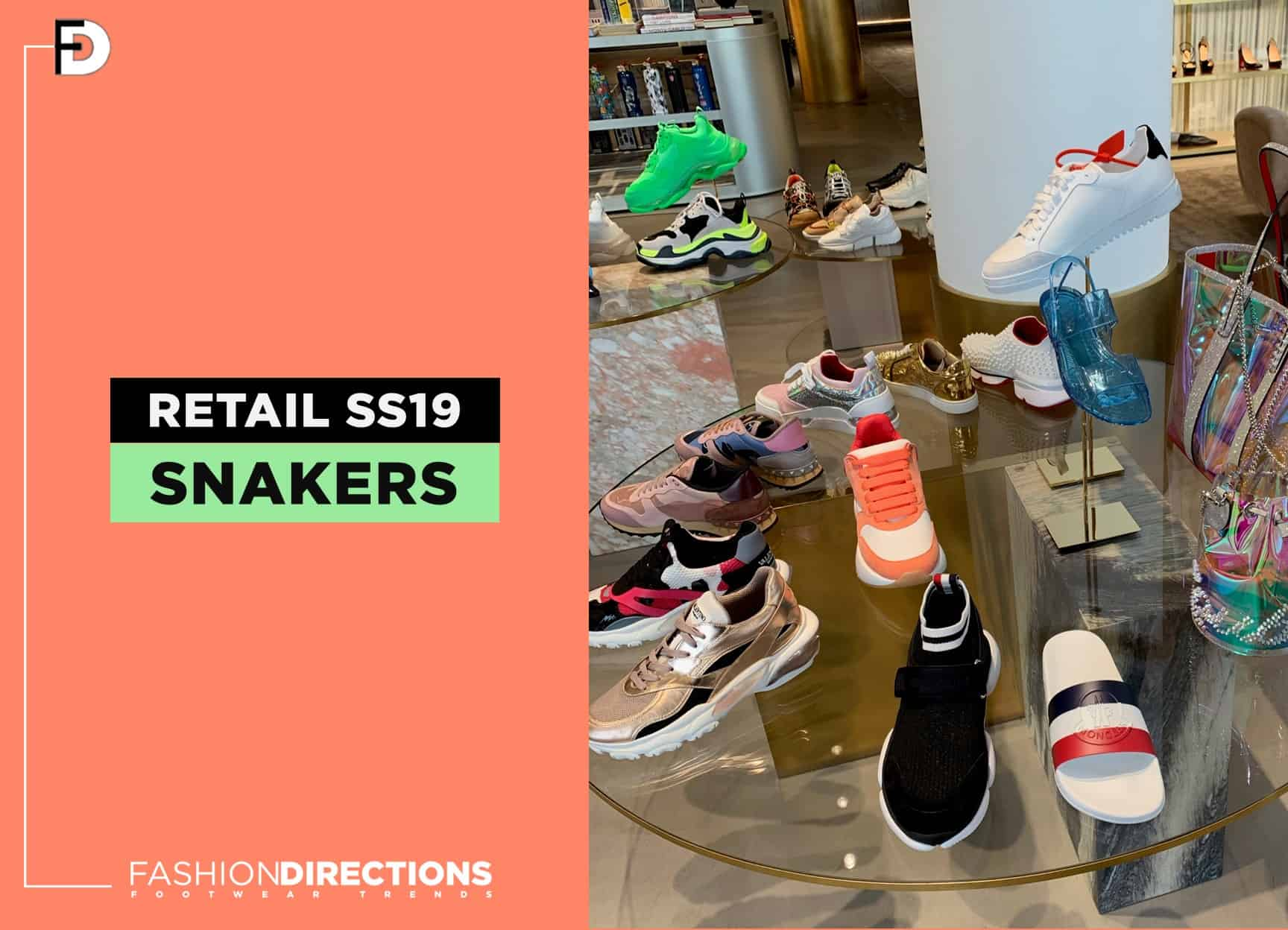 Luxury Shoes 2019 Retail Stores Windows 115 Sneakers