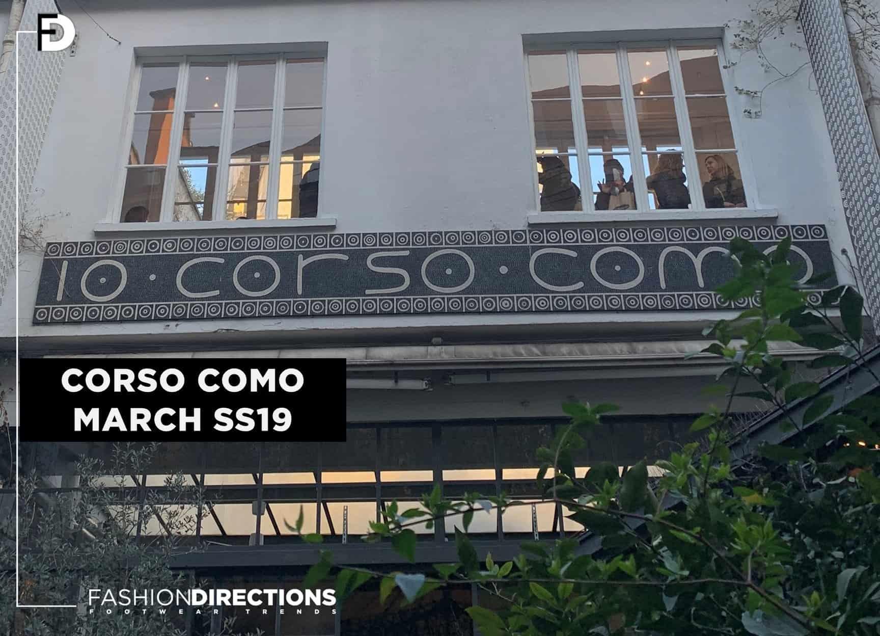 SS19 Shoes Corso Como Milano Retail Stores 1