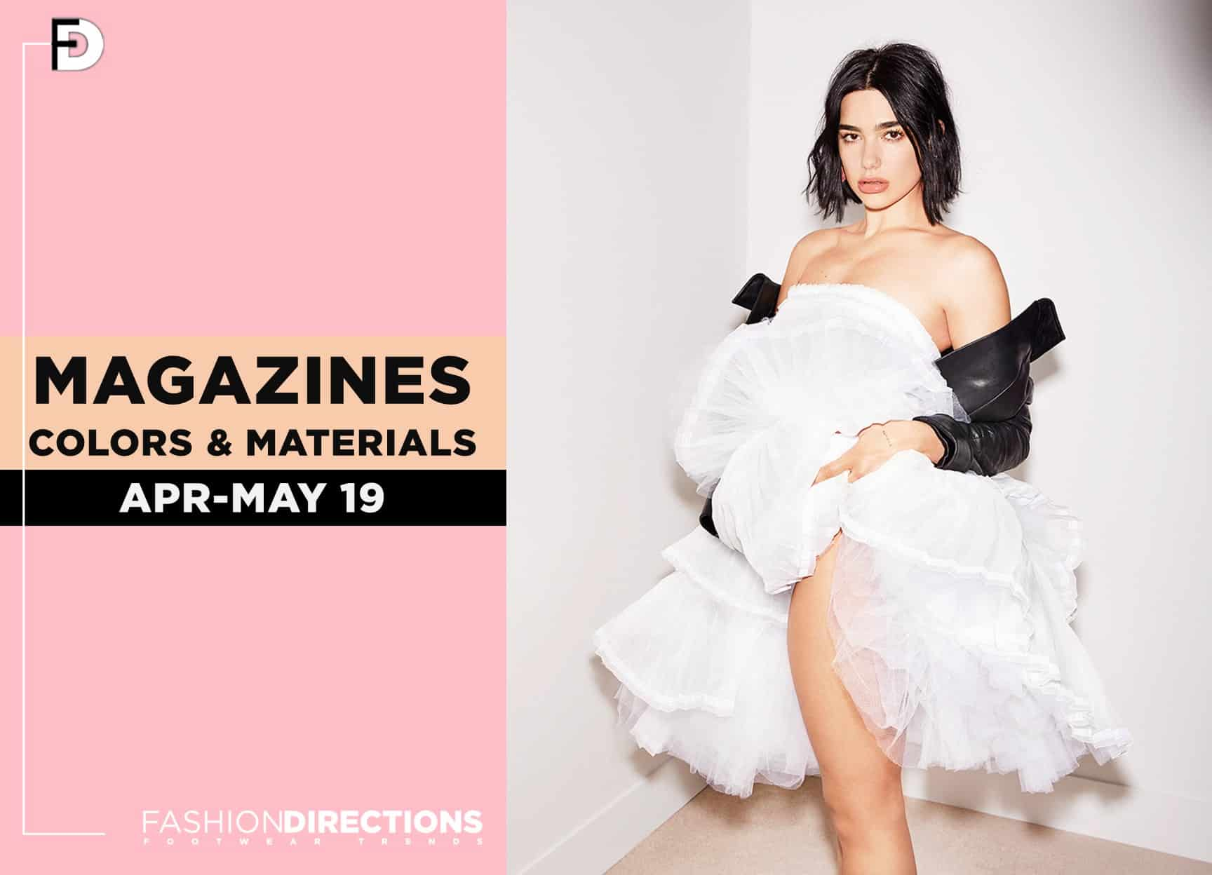 Fashion editorials May 2019 1
