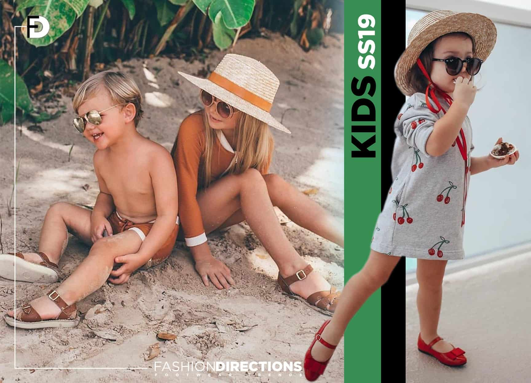 Kids shoes trends ss20 2019