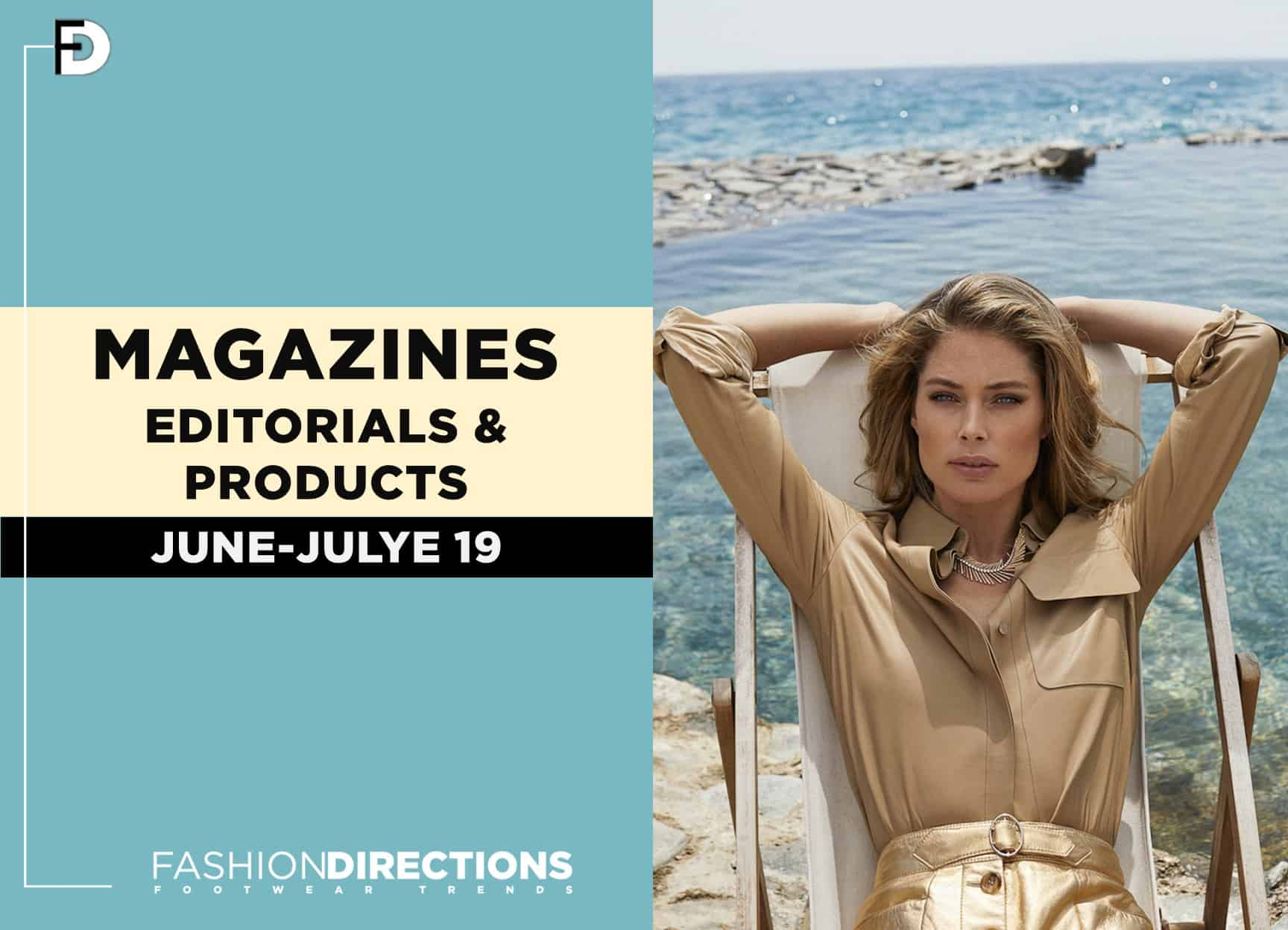 Fashion editorials magazines July 2019 1