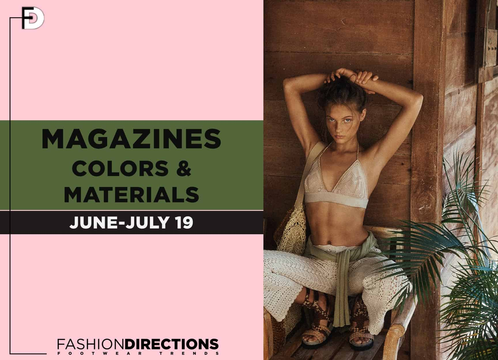 Fashion magazines editorials July19 1