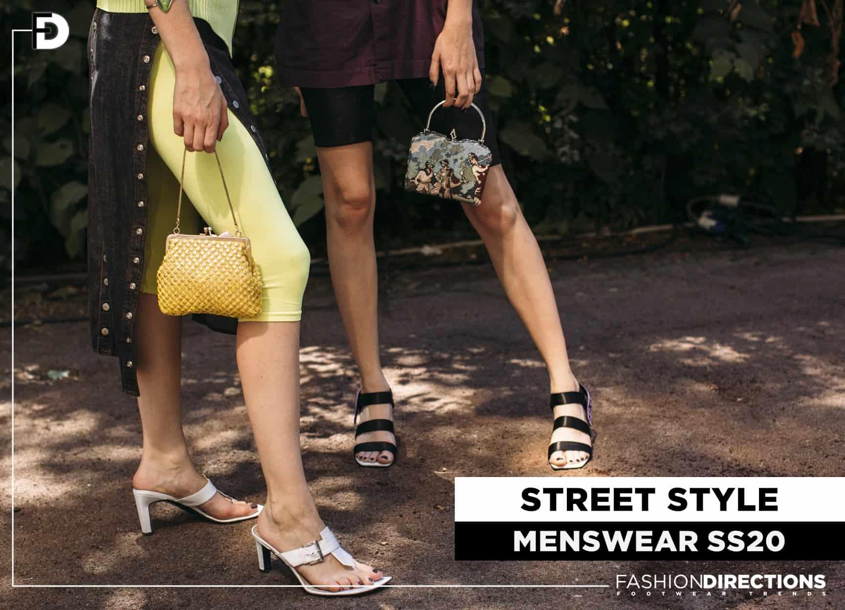 Street style menswear SS20 1