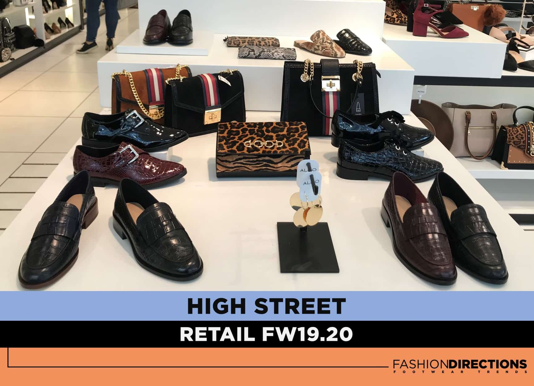 Fall 19 Footwear in Retail Stores