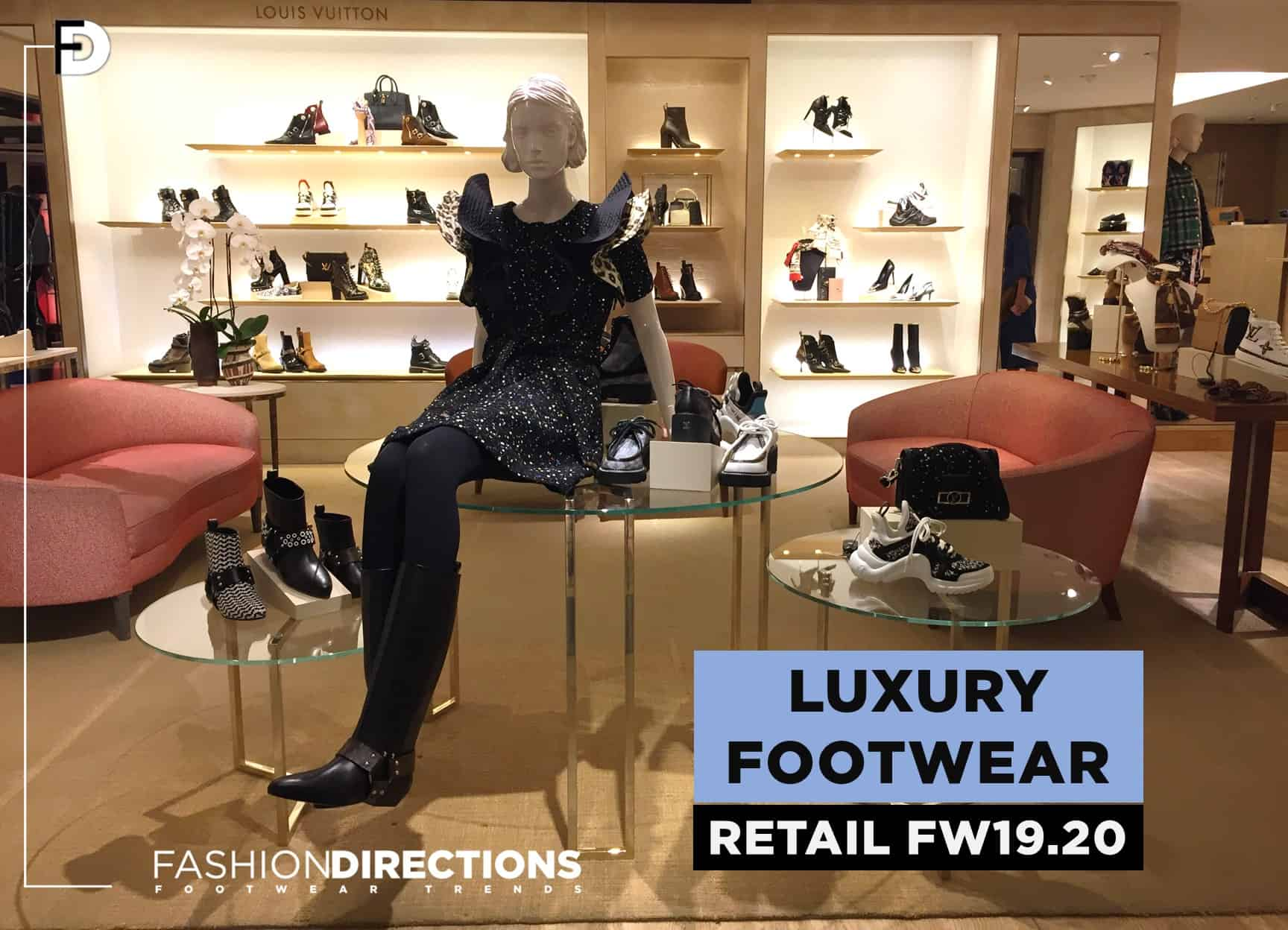 Retail Luxury footwear trends Fw19.20