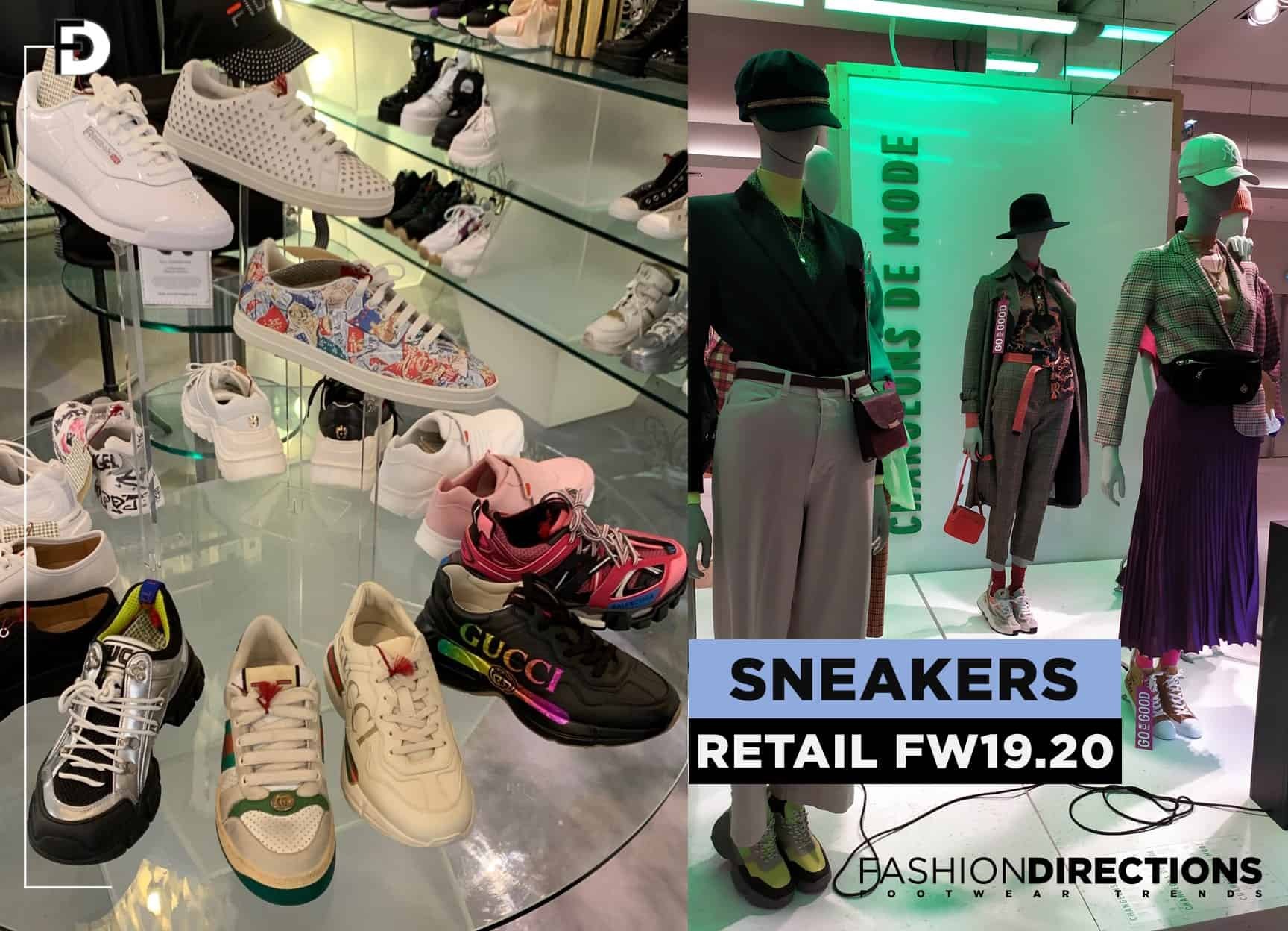 Retail sneakers FW19.20